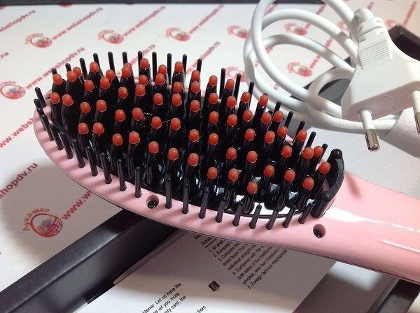 Расчёска для выпрямления волос Fast Hair Straightener HQT 906 - фото pic_4d236f81a8e6006_1920x9000_1.jpg