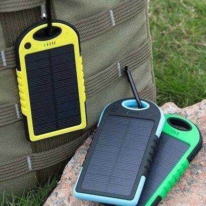 Внешний аккумулятор на солнечных батареях Solar Сharger 5000mAh Чёрный - фото pic_4613017e1c28a8a_1920x9000_1.jpg