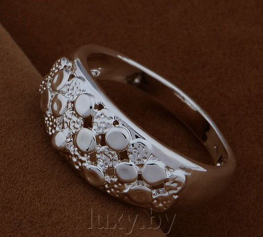 кольцо серебрение