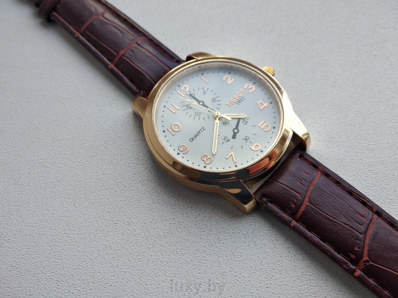 Часы наручные мужские, ремешок коричневый, арт. Н-45 - фото pic_d3f469325a8c24a_1920x9000_1.jpg