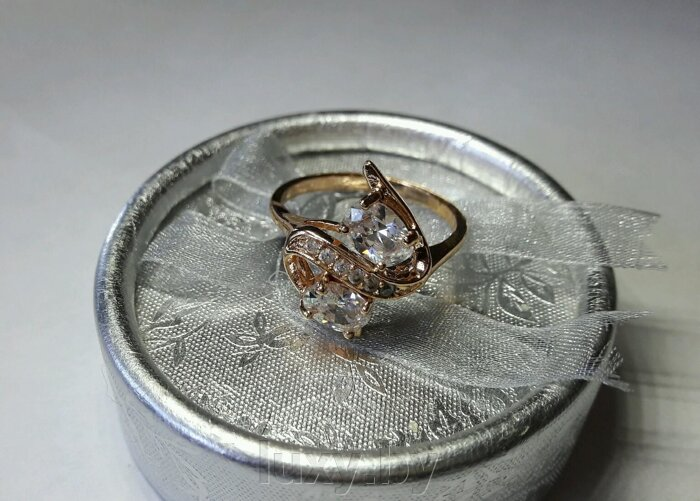 Кольцо С 31 - фото кольцо с фианитом