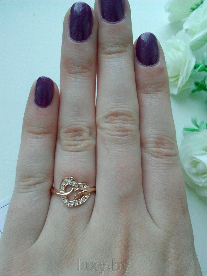 Кольцо 2362261рч - фото кольца позолоченные