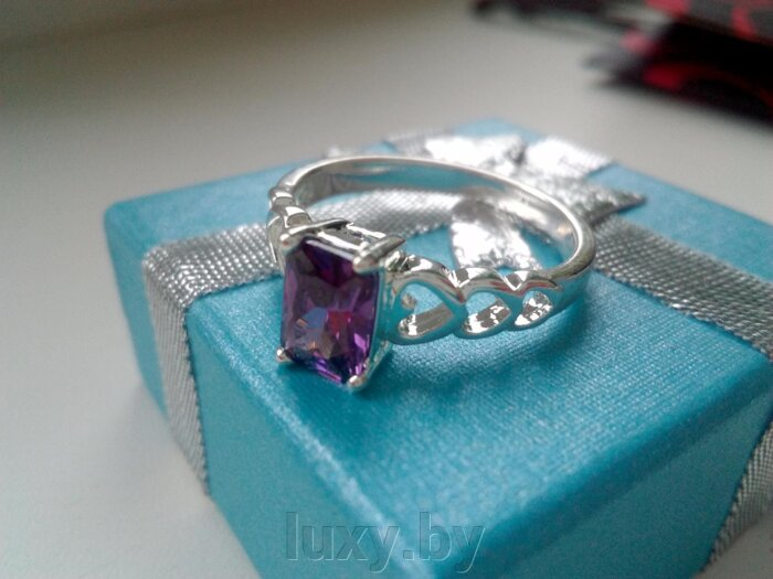 Кольцо С 32 - фото кольцо серебряное