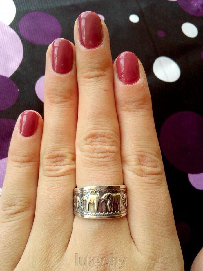 кольцо со слониками