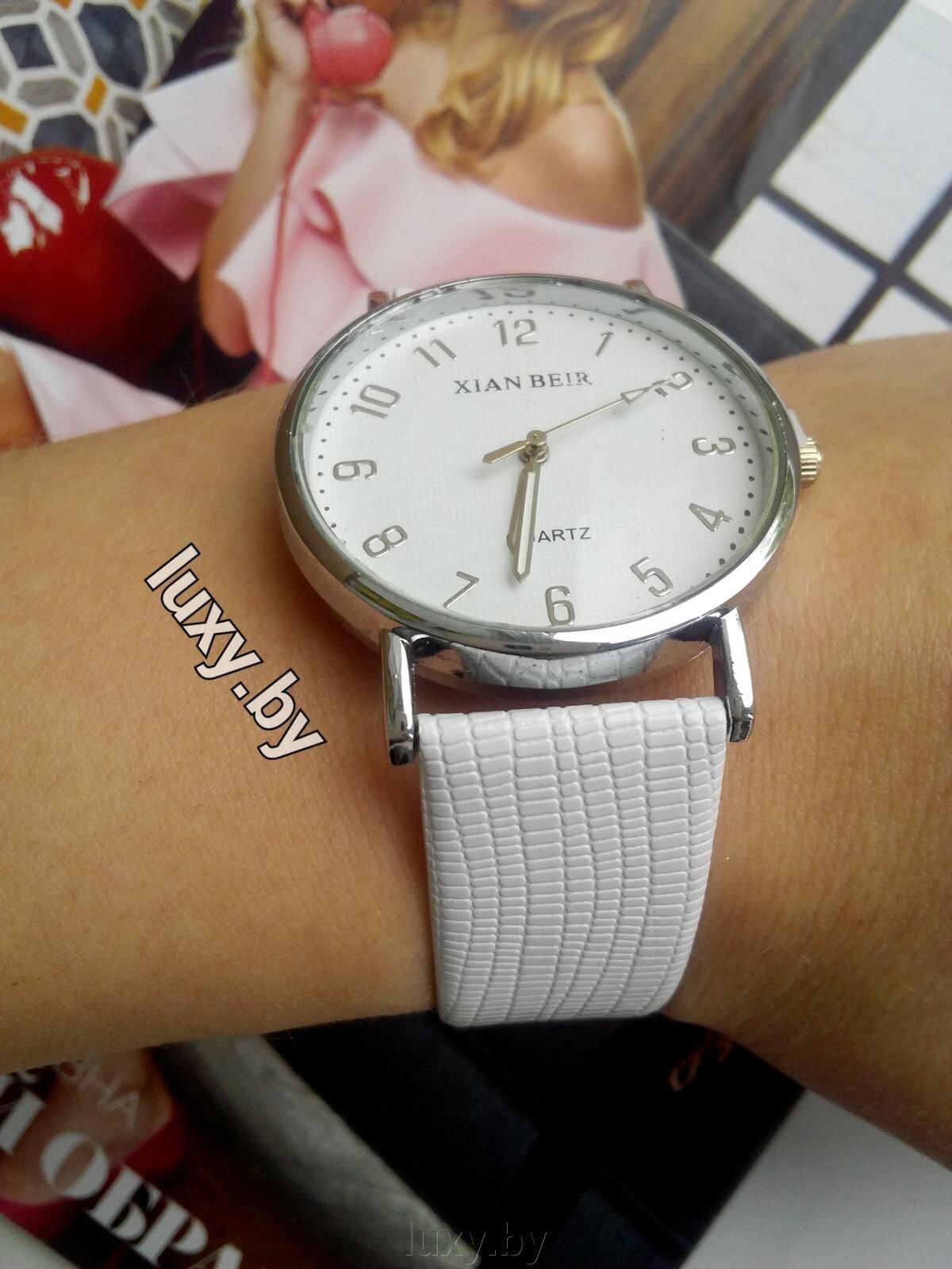 Часы наручные женские белые, прорисованные цифры, арт.Н-5 - фото pic_210a99b010a22ce_1920x9000_1.jpg
