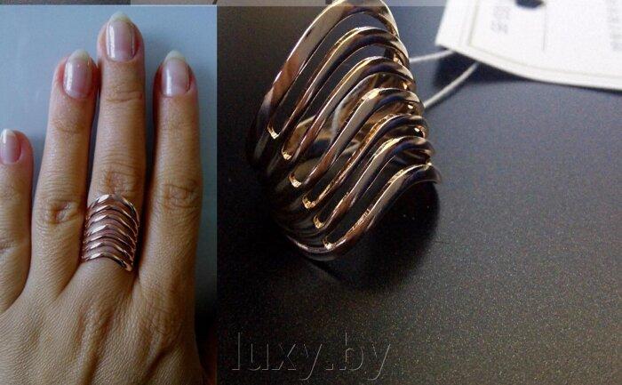 Кольцо 240548р - фото Кольцо под золото