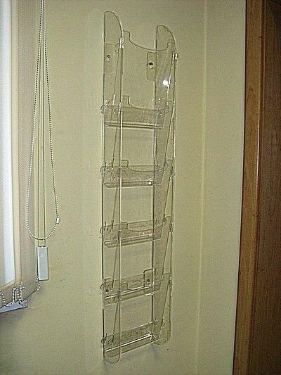 Буклетница, подставка под информацию - фото 17