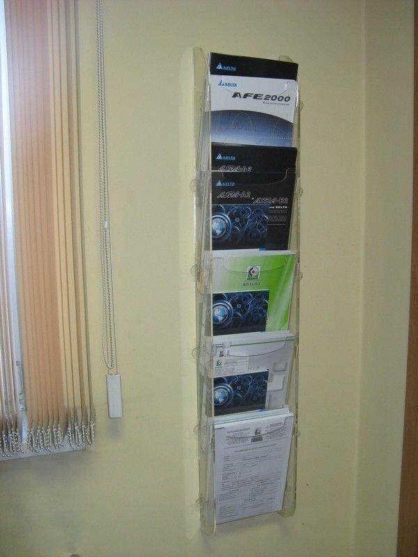Буклетница, подставка под информацию - фото 18