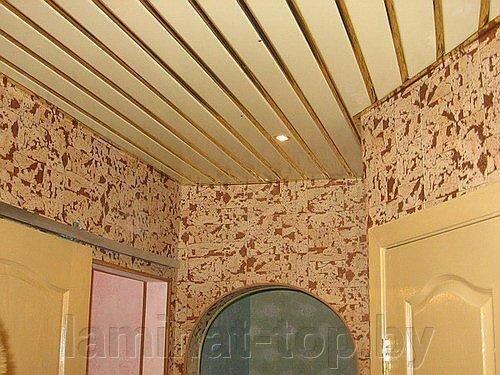 """Реечный потолок """"Албес"""" Светло-бежевый (немецкий дизайн) - фото 1"""