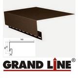 Софит Grand Line America T4 Коричневый с центральной перфорацией (Размер:3х0,305м) - фото pic_88e4747cbe26ad13625af1a7de0a905a_1920x9000_1.png