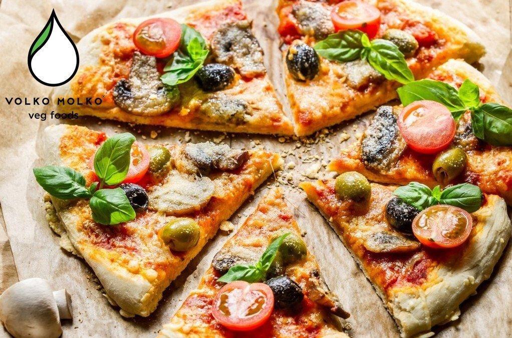 """Сыр веганский для пиццы """"Volko Molko"""" 280 г - фото сыр веганский для пиццы"""