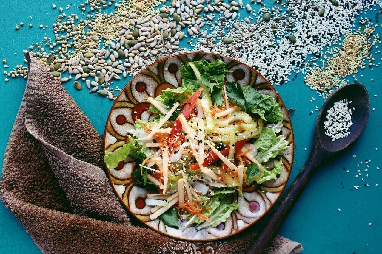 """Смесь для салатов Ореховый вкус """"Fun&Food"""", 100 гр. - фото pic_da51d335484e282ea26c99e9074acdb0_1920x9000_1.jpg"""