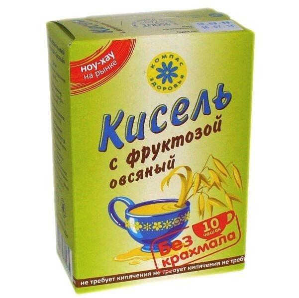 """Кисель """"Компас здоровья"""" с фруктозой """"Овсяный"""" 150 г - фото 2"""
