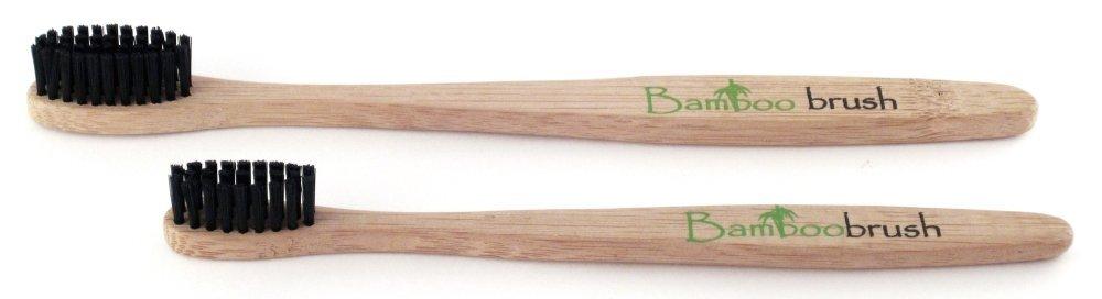 зубная щетка на бамбуковой основе