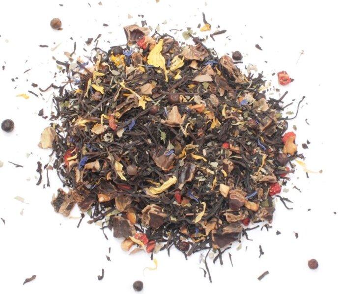 """Чай черный """"Royal Forest"""" (с ягодами годжи, кэробом и клубникой), 75 г - фото pic_0cb3677093af89e_700x3000_1.jpg"""