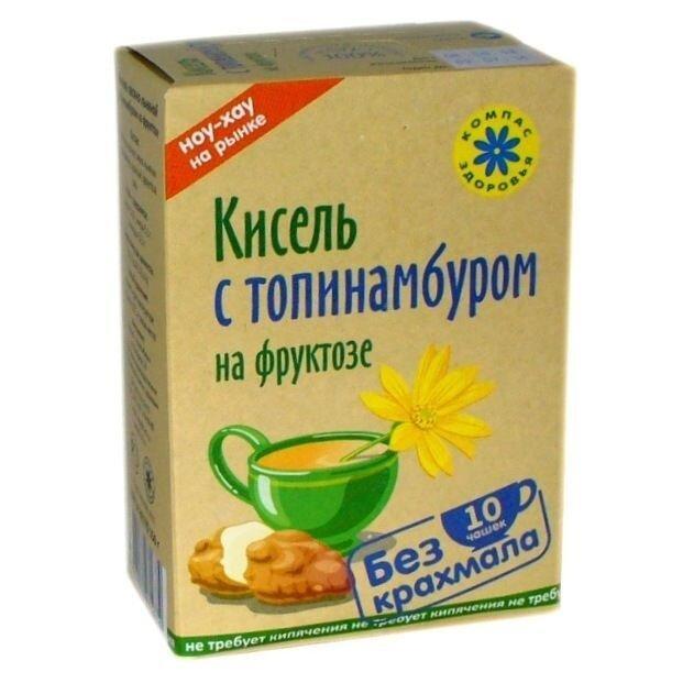 """Кисель """"Компас здоровья"""" с топинамбуром на фруктозе 150 г - фото 1"""