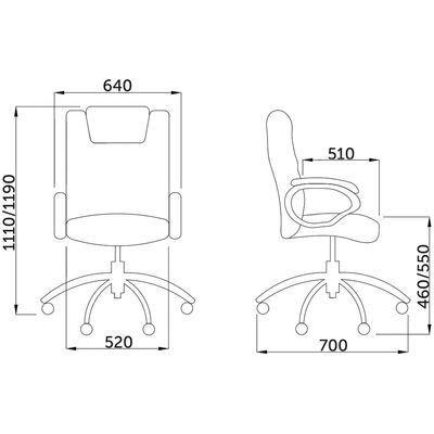 Кресло компьютерное, Леон, коричневое - фото pic_c414fa2a23a17ff0c0666bd6e0c2dba8_1920x9000_1.jpg
