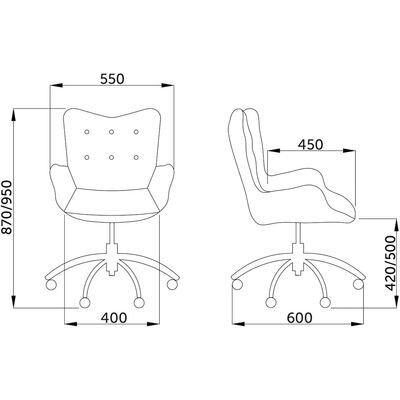 Кресло компьютерное, Белла (велюр), бежевое - фото pic_1f93caa929ca28f5f6ce008e4e9a4207_1920x9000_1.jpg