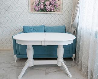 Стол овальный, Пан белый, деревянный, раздвижной (80*120/160 см) - фото pic_02911492e83b37581e0ddbcf9fab331d_1920x9000_1.png