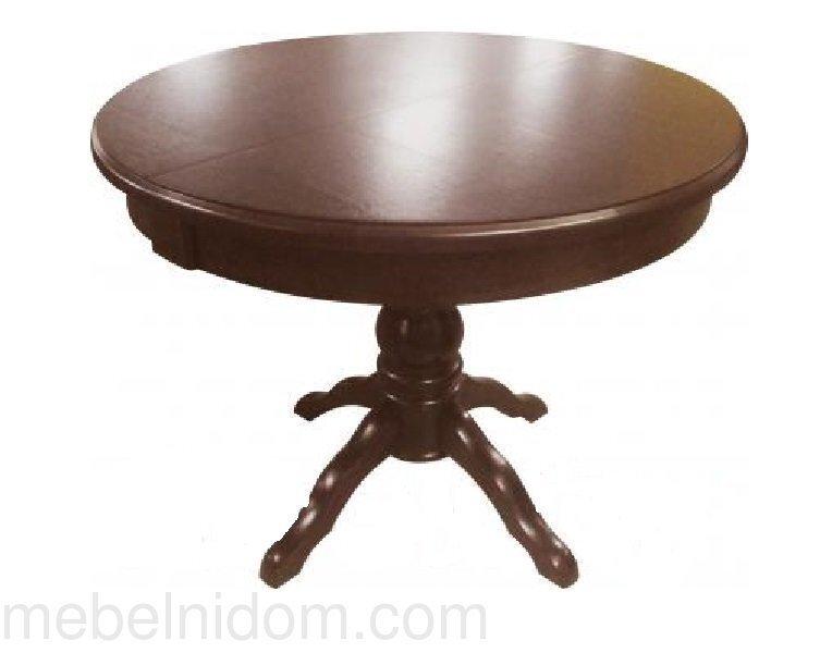 Стол круглый, Прометей темный дуб, Dark OAK, деревянный, раздвижной (100*100/140 см) - фото pic_f95f4d9e387465cc7c3605ecee9ddd85_1920x9000_1.jpg