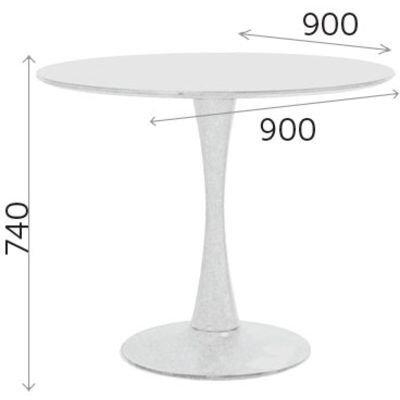 Стол белый, Альма, круглый (90 см) - фото pic_7be893b6fa4d2f1_1920x9000_1.jpg
