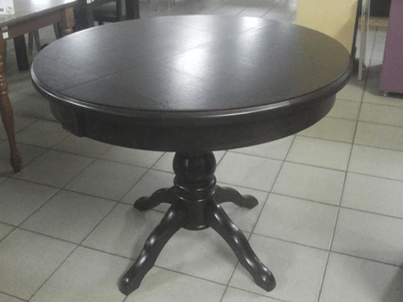 Стол круглый, Прометей венге, деревянный, раздвижной  (100*100/140 см) - фото pic_50cfae43c7c233972622f1b8dde5b638_1920x9000_1.png