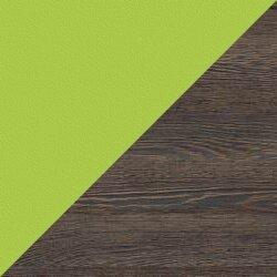 Кухня угловая, Микс (150 см/250-270 см), зелёная/венге мали - фото pic_63359997431efafd9bca46f32c967d5a_1920x9000_1.jpg
