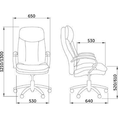 Кресло компьютерное, Леонардо, коричневое - фото pic_a9a80739c0d5dda33bc9c68c3919dc89_1920x9000_1.jpg