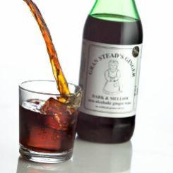 Имбирное вино темное безалкогольное Gran Steads Ginger, 750 мл. - фото безалкогольное темное имбирное вино купить в минске, беларуси от vegans.by