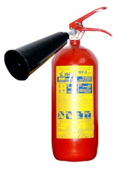 Огнетушитель углекислотный ОУ-2 (РБ) - фото 1