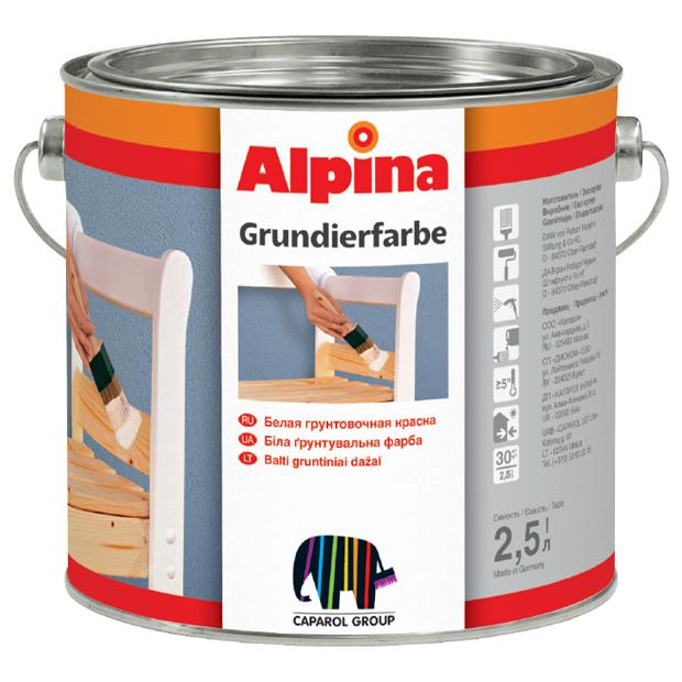 Alpina-grundierfarbe