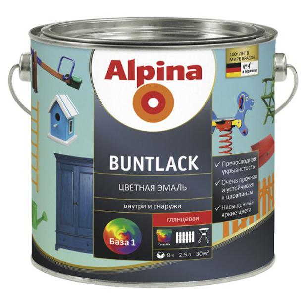 Alpina-buntlack