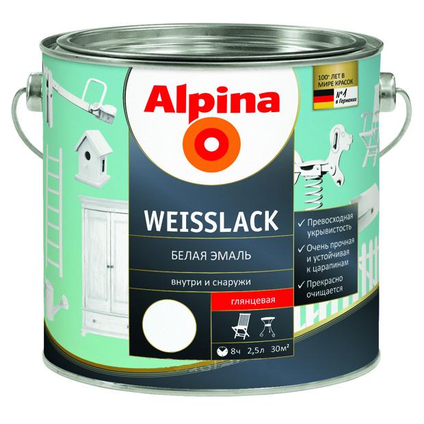 Alpina-weisslack