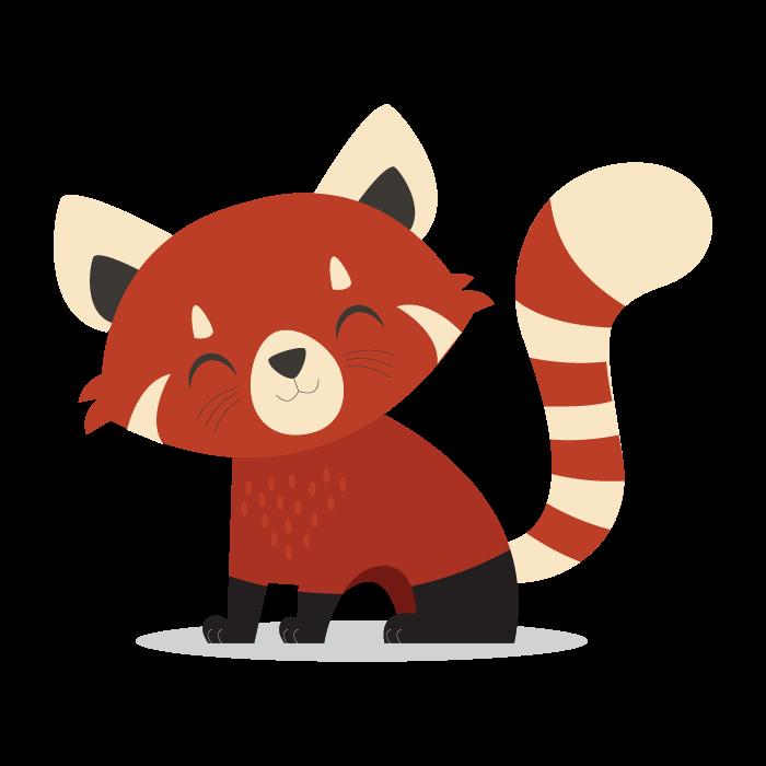 Кигуруми Енот взрослый - фото red-panda-png-tails-the-red-panda-700.png