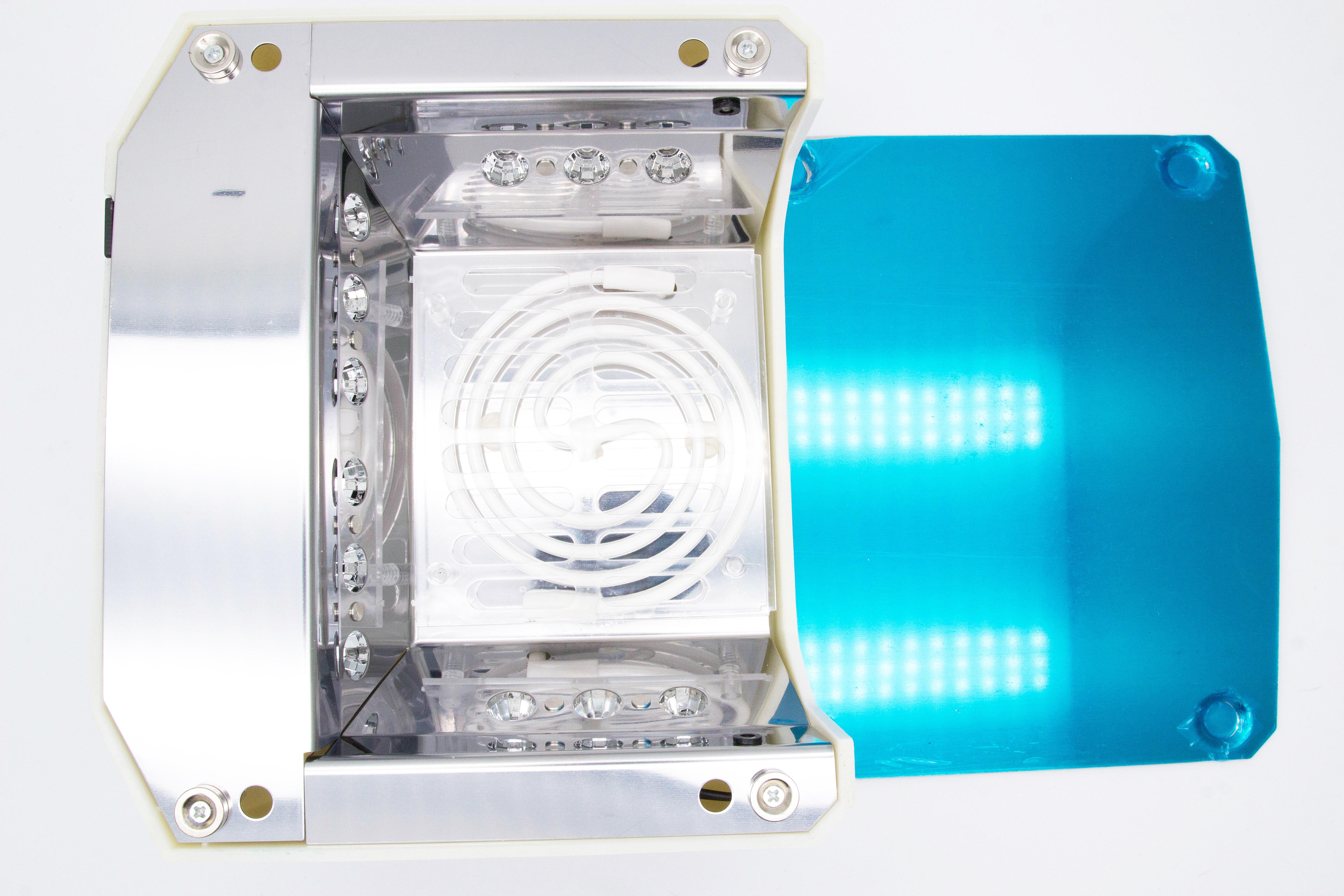 Лампа для гель лака Diamond 36W гибридная uf led - фото 3