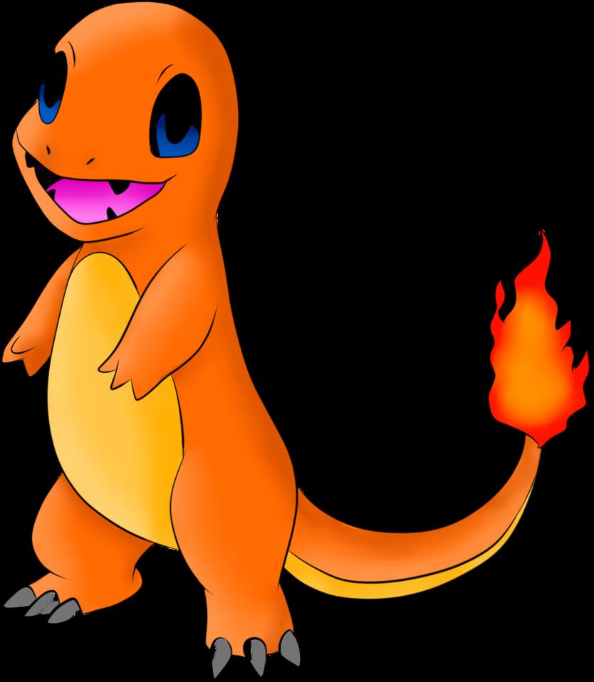 Покемон Чармандер взрослый - фото pokemon_PNG22.png