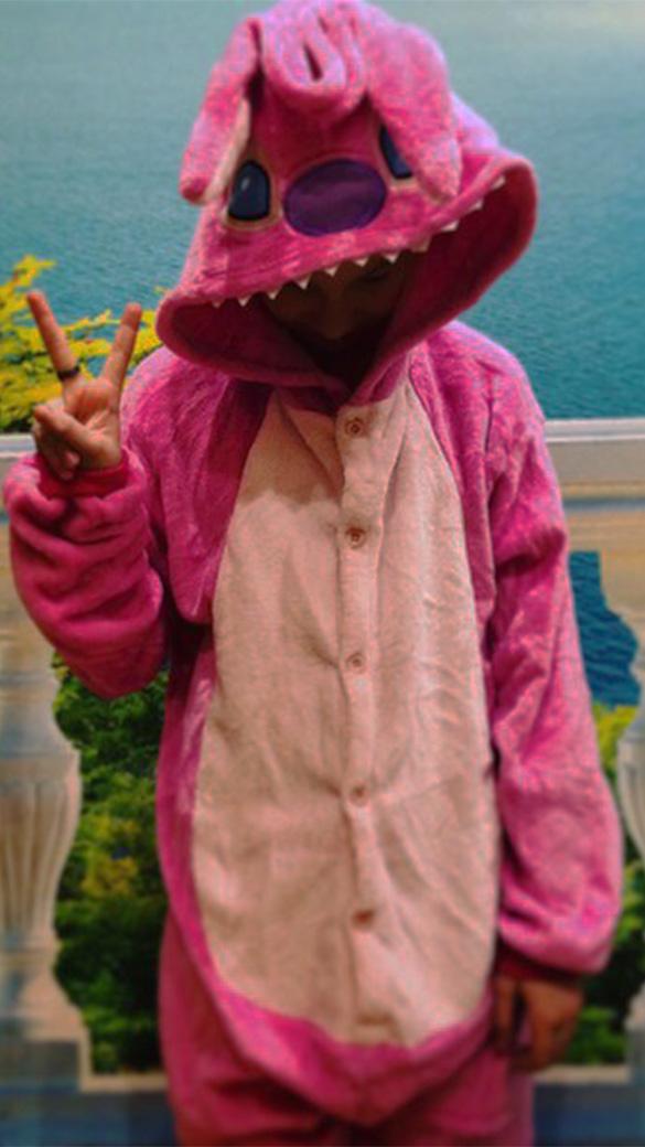 Розовый Стич взрослый - фото R1e2hbyiVUM.jpg