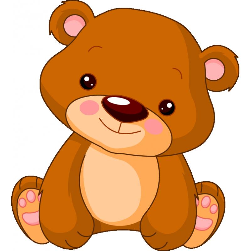 Медвежонок детский - фото teddy-bear-stickers.png