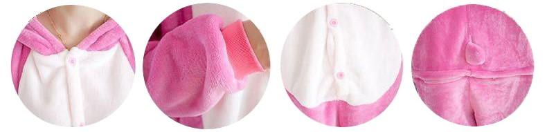Розовый Стич взрослый - фото female-pijamas-unicorn-stitch-panda-flannel-hoodies-pajamas-costume-animal-onesies-sleepwear-wom.jpg