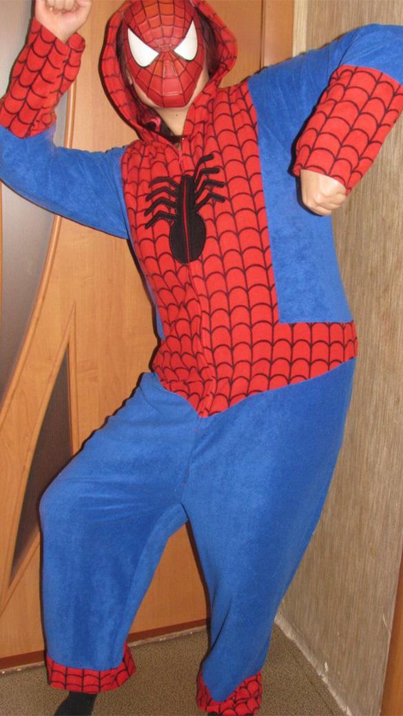 Человек Паук взрослый - фото 9183649_2_f93e239d2711f73cb14f52cc9ae93808.jpg
