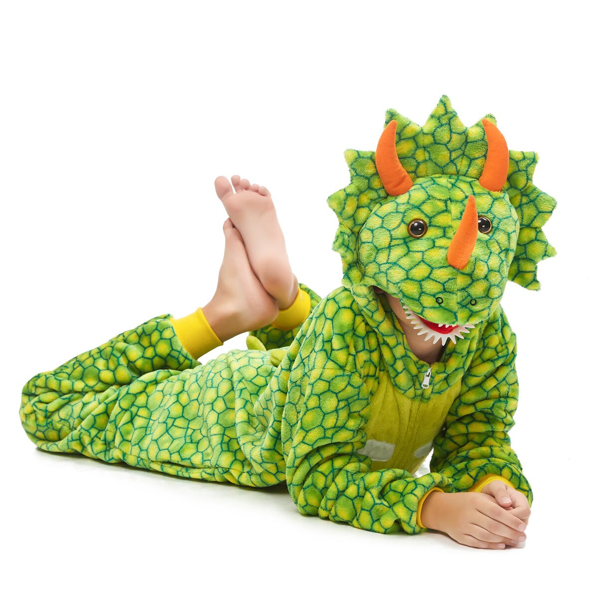 Трицератопс зеленый детский - фото H6e56759f5e1c42c689ea26822cc83fbeX.jpg