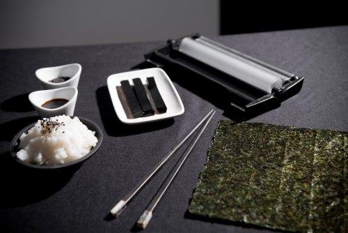 Устройство для приготовления суши Easy Sushi, набор для роллов Изи Суши - фото easy-sushi-noir-et-blanc-01.jpg