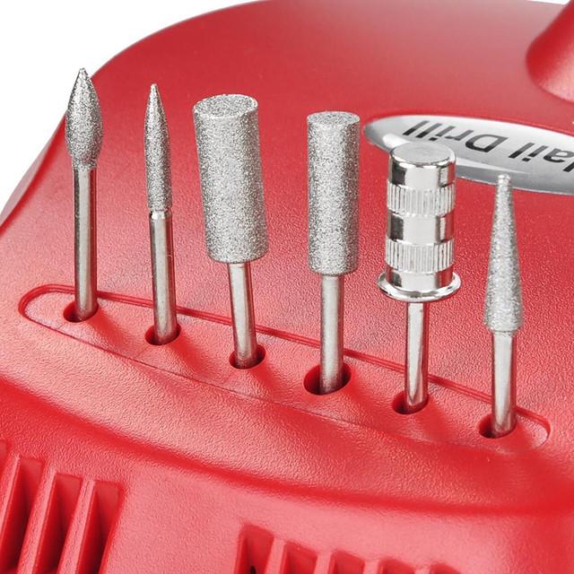 Аппарат для маникюра Nail Drill DM 202 25т.о. 30Ватт фрезер - фото 1