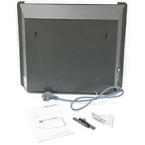 Монтаж на кронштейны Aeroheat EC CP1000W M 4L47