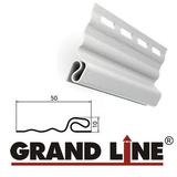 Софит Grand Line America T4 Коричневый с центральной перфорацией (Размер:3х0,305м) - фото Стартовая планка Grand Line Белая (длина-3м)