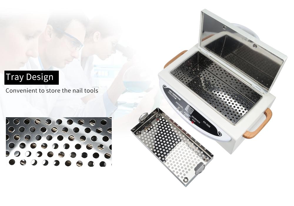 Сухожар для стерилизации KH-360B 500Ватт сенсорный для маниюрных инструментов - фото HTB15pTkcr1YBuNjSszhq6AUsFXay.jpg