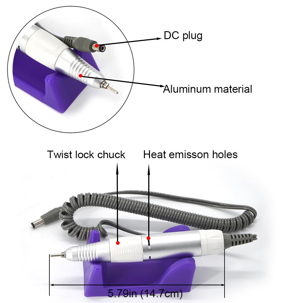Аппарат для маникюра Nail US 502 30 т.о. 15Ватт фрезер - фото DSC_0179-1