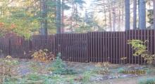 Забор для дачи ЛенОбластьСтрой