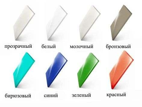 Цветной монолитный поликарбонат
