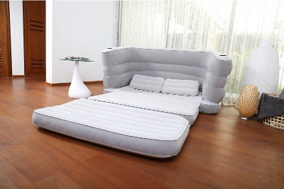 Надувной матрас BestWay Multi Max II Air Couch 200x160x64 75063 - фото 2
